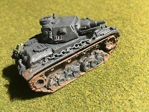 Details about 1/100th (15mm) Painted WWII German Panzer IV D Model in  Panzer Grey