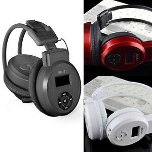 2baa7e045c3 2018 TF Card SH-S1 Sport MP3 Player Headset FM Radio Foldable ...
