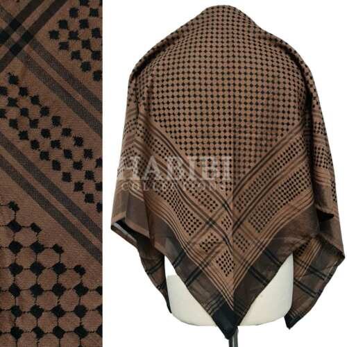 New Authentic Best Quality Arab Palestine Afghan Style Scarf Shemagh Yashmagh