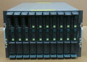 Fujitsu-Primergy-BX600-S3-7U-S26361-K1156-V302-With-10x-BX620-S4-Blade-Servers