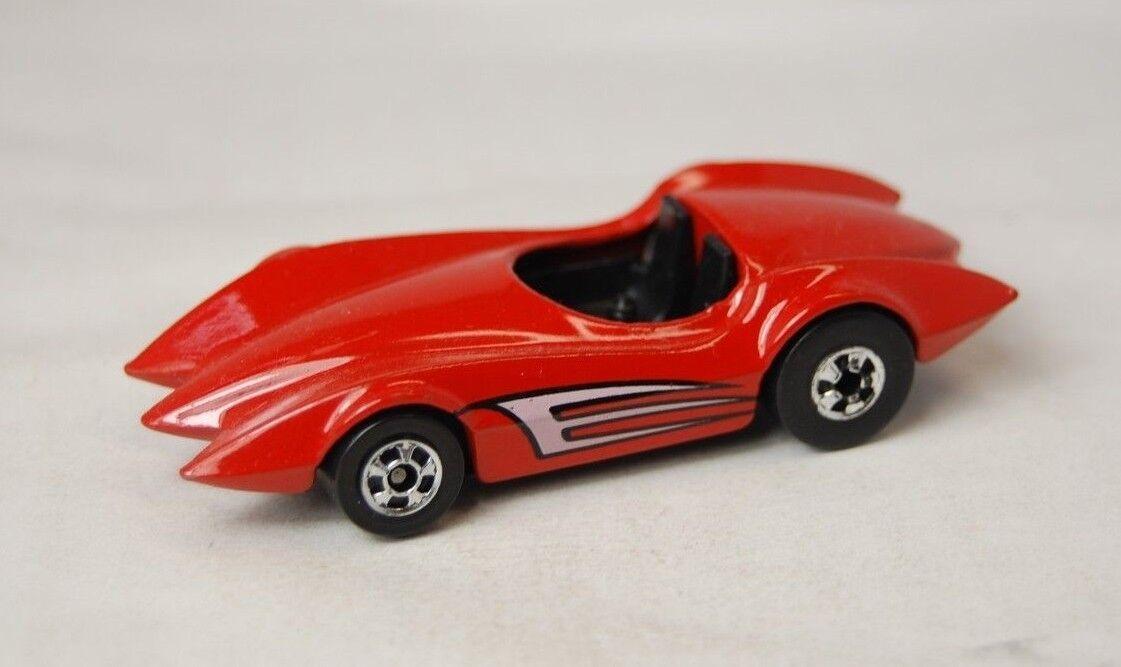 Hot wheels 1976 Leo Mattel India Speed Fleet Second Wind VHTF Red Unplayed