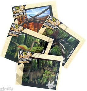 3-D Dino Wooden Puzzle Dinosaur Unearthed Series Quality Wood Model Kits No Glue