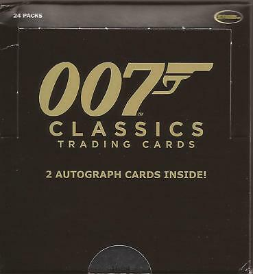 2007 Rittenhouse Archives The Complete James Bond sealed pack