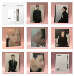 Details about NCT 127 Official POSTCARD 1st Album Regular-Irregular  Preorder Benefit Post Card