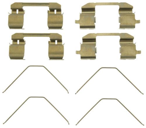 Disc Brake Hardware Kit Front Centric 117.40022