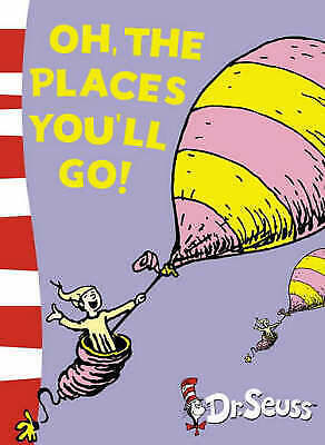1 of 1 - Oh, The Places You'll Go! By Dr. Seuss Paperback Book | NEW & Free Shipping