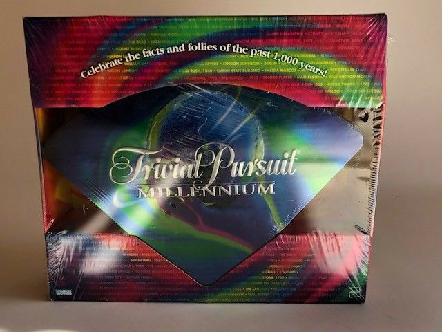 NEW Trivial Pursuit Pursuit Pursuit Millennium Edition Family Board Game by Parker Brothers e7b835