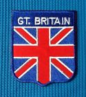 GREAT BRITAIN UNION JACK ENGLAND BRITISH FLAG SOW SEW IRON ON PATCH BADGE SHIELD