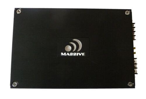 Massive audio v1000.1 etapa final 1000 vatios 1 canal amplificador amplifier monoblock