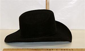Details about Men s Black Western Cowboy Hat Pigalle Santo Nino Sombrero  Mexico Felt Lg 7 3 8 9aa5fe3a058
