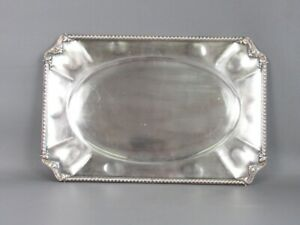 Elegant-Tray-For-Capacity-Plated-Silver-1000-With-Edge-IN-Embossed