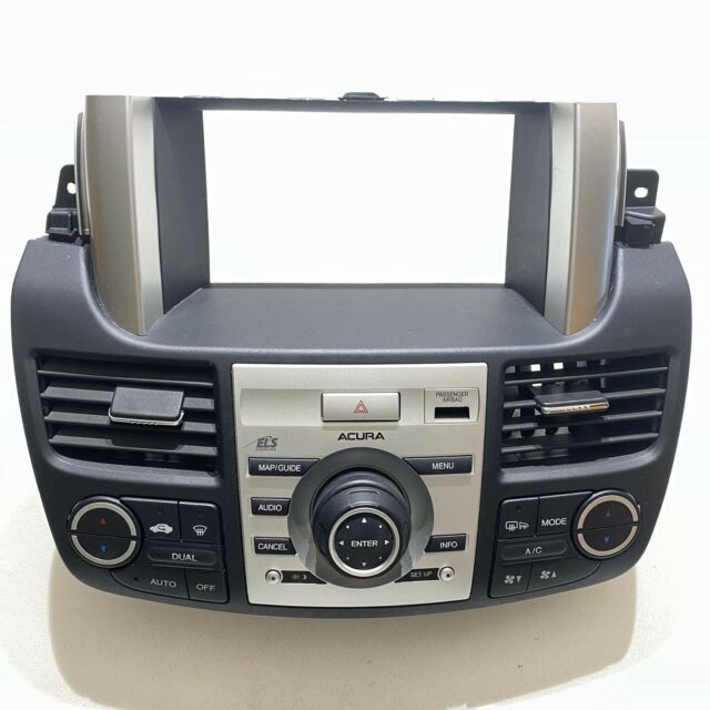 07-09 Acura RDX Center Dash Radio A/C Climate Controls OEM