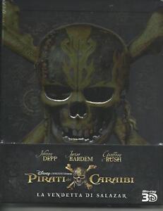Pirates-des-Caraibes-Le-vendetta-par-Salazar-3D-2017-s-e-2-Blu-Ray-metal-box