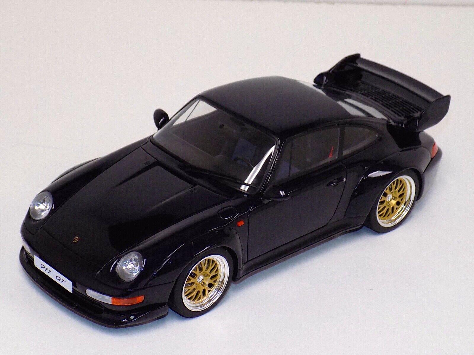 1 18 GT Spirit Porsche 911 993 GT  Bleu limité à 1500 GT144  bénéfice nul