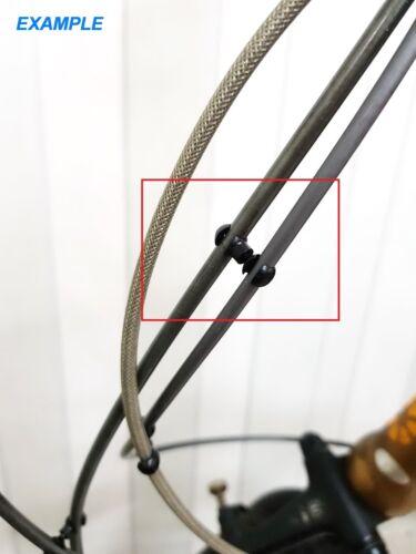 Jagwire CHA046 Road Mountain MTB Bicycle Bike Cable Hose Rotating S-Hook 4pcs
