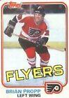 1981 Topps Brian Propp #110 Hockey Card