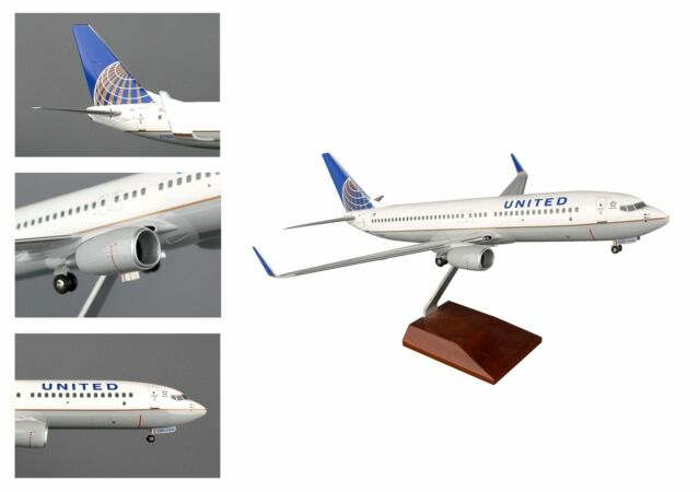 SKYMARKS SUPREME 1/100 UNITED AIRLINES BOEING 737-800 MODEL| BN | SKR8231