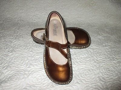 Alegria Day-126 Patent Leather Mary Jane Shoes Eu40 /us 10 Women's Shoes
