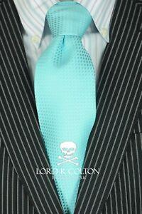 Lord-R-Colton-Studio-Tie-Resort-Blue-Dobby-Woven-Necktie-95-Retail-New