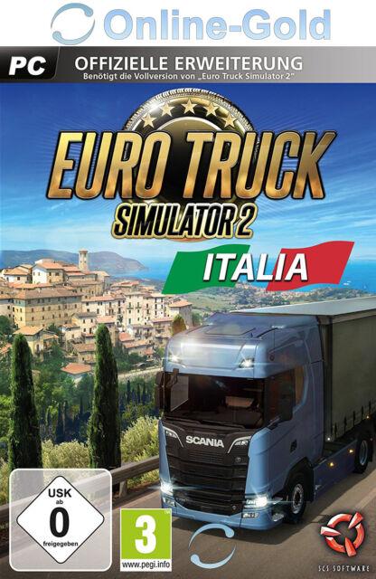Euro Truck Simulator 2 Italia - PC Steam Code - ETS II Add-on DLC Key [Indie] EU