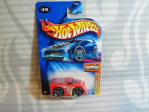 2004-Hot-Wheels-Primo-Edizioni-015-Blings-Dodge-Ram-Pick-Up-Red-0714c-Star