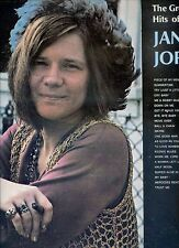 JANIS JOPLIN the greatest hits of 2lp USA EX