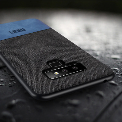 sneakers for cheap d4993 a78f1 MOFi For Samsung Galaxy Note 9 Hybrid Slim Soft Fabric Case Shock Back  Cover   eBay