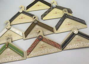 9-Switch-Flops-by-Lindsay-Phillips-M-Interchangeable-Straps-Multi-Color-Lot