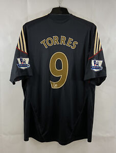 Liverpool Torres 9 Away Camiseta de fútbol 2009/10 Adultos ...