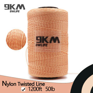 Nylon-Fishing-Twist-Line-360M-50Lbs-Brown-High-Quality-Super-Outdoor-Kite-Flying