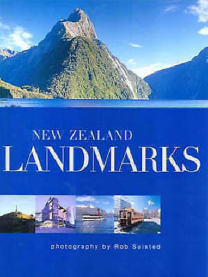 Suisted, Rob, New Zealand Landmarks, Very Good Book