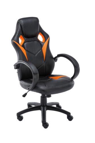 Racing Bürostuhl mit Armlehne Stuhl Sportsitz Drehsessel Drehstuhl Büromöbel