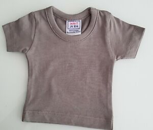 New-Small-T-Shirt-Grey-For-Approx-9-13-16-11-13-16in-Bears