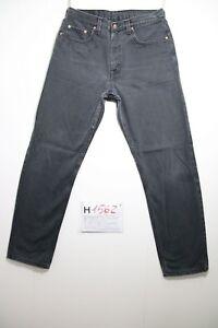 Levi-039-s-615-noir-gris-Cod-H1562-Taille-48-W34-L34-jeans-d-039-occassion-raccourci