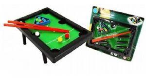 Mini-Jeux-de-Billard-Complet-Dimensions-9-5-x-14-5-cm-NEUF