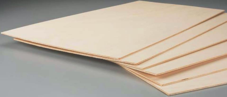 Extérieur Plywood 6 X Pages 0.6m L (61cm) Taille L 0.6m X 1'(30.5cm) Largeur X 0.0397cm edddba
