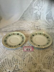 Pair-Of-Small-5-Saucers-Royal-Doulton-Tapestry