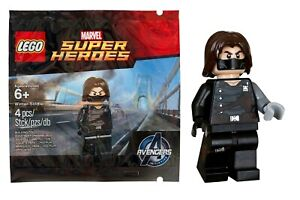NEU-Lego-versiegelt-Winter-Soldat-Polyestertasche-6119216-Avengers-Initiative-White-Wolf