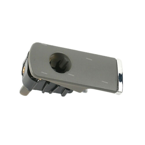 Glove Box Lock Lid Handle With Hole Gray ABS For Audi A4 8E B6 B7 2001-2007 New