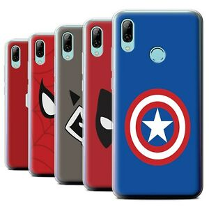 Gel-TPU-Case-for-Huawei-P-Smart-2019-Super-Hero-Comic-Art