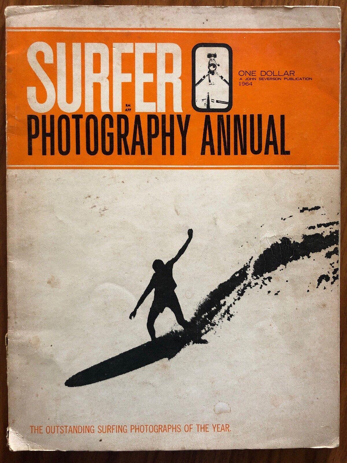 Surfista  , una publicación John Stevenson, fotografía raro problema anual (1963)