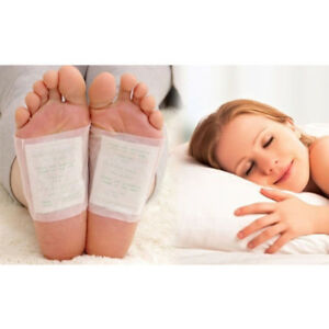 10-Detox-Foot-Pads-Patch-Detoxify-Toxins-with-Adhesive-Keeping-Fit-Health-Care