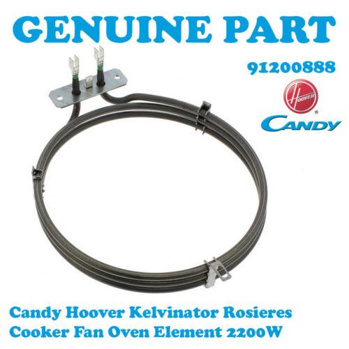 KENWOOD CK404FS CK405 CK405FFD CK408 da forno elemento ventola 2200W 91200888