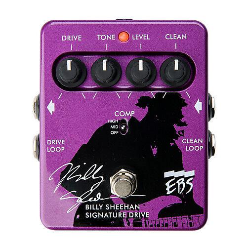 EBS Billy Sheehan Signature Bass Overdrive Pedal