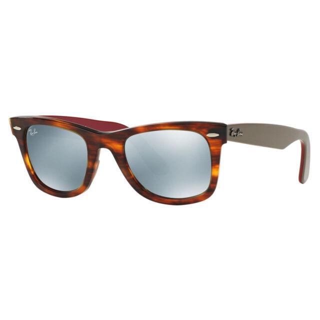 c3a0d18d7f New Ray Ban RB2140 117830 50 22 Original Wayfarer Bicolor Sunglasses  Purple-Red