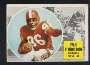 e84130283fc Image is loading 1960-Topps-Canadian-Football-Card-45-Ivan-Livingston-