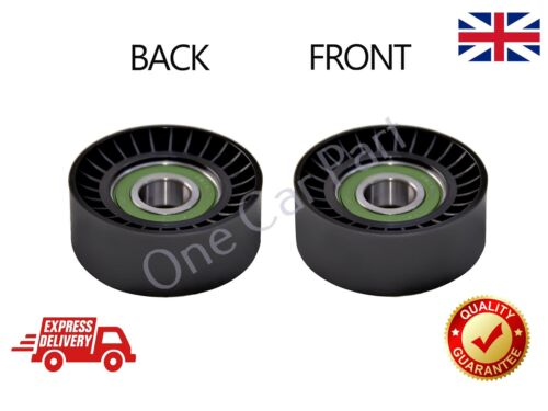 Aux Belt Idler Guide Deflection Pulley Fits Fiat 500L 1.6D 2012 on 55190813