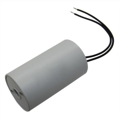 Betrieb 8uF 450V Ø30x78mm I150V580K-G1 Kondensator für Motoren 25-70°C MIFLEX