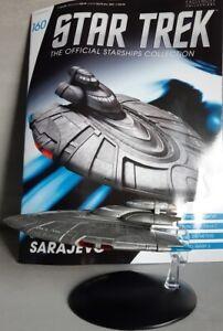 Star Trek Official Starships Magazine #160 Star Trek United Earth Sarajevo Engl.