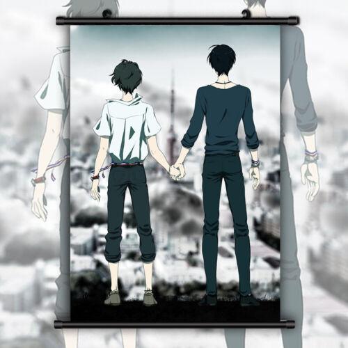 Zankyou no Terror HD Print Anime Wall Poster Scroll Room Decor